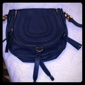 Chloe blue bag, medium size